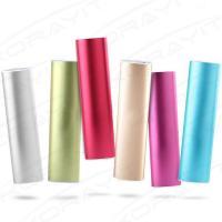 Buy cheap 10400mAh Ellipse Shape Portable Mobile Power Bank with LED Flashlight, product