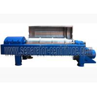 Buy cheap High Performance Continuous Automatic Centrifuge Machine Decanter Centrifuges from wholesalers