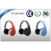 Buy cheap UV Coating Noise Canceling Foldable Stereo Headphones with Flat Cable product