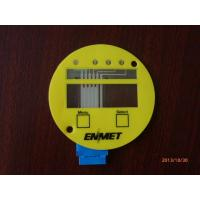 Buy cheap Free Design Gloss Membrane Switch Keypads With Clear Window And 3M Adhesive from wholesalers