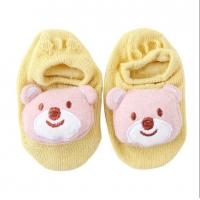 Buy cheap Hot sell summer baby bow socks with cute animal pattern anti-slip socks from wholesalers