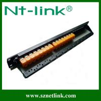 Buy cheap New arrival, cat6A 24port modular patch panel from wholesalers