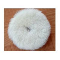 Buy cheap Flexible Wool Blend Paint Polishing Pads , Double Sided Wool Buffing Pad OEM from wholesalers