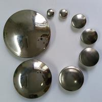 Buy cheap stainless steel accessories pipe end cover from wholesalers