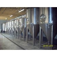 Buy cheap Stainless Steel Pro Beer Brewing Equipment 10BBL Fermentation Tank Four Legs from wholesalers