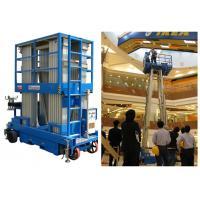 Big Capacity Aerial Vertical Mast Lift Four Mast 8 Meter For Maintenance Service