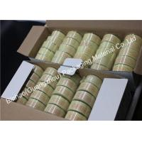 Buy cheap Light Yellow Liner Material Fiber Packing Tape High Temperature Resistant from wholesalers