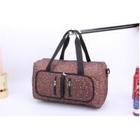 Buy cheap Competitive Price Large capacity travel bags for women with leopard print product