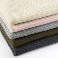 Buy cheap Winter Spring Fine Solid Color Rib Knit 220 Gsm Cotton T Shirt Fabric from wholesalers