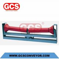Buy cheap riction-Down aligning mining idler trough grooved conveyor roller/Friction-upper aligning grooved conveyor roller from wholesalers