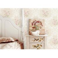 Buy cheap Flowers Damask Printing Concise European Country Style Wallpaper 0.53*9.5M product