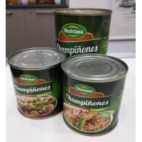 Buy cheap Fast Food Canned Champignon Mushroom / Canning Wild Mushrooms Natural Taste from wholesalers