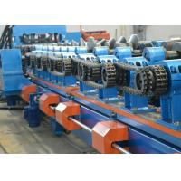 Buy cheap Galvanized Steel Sheet CZ Purlin Roll Forming Machine 8-12m / Min Production Capacity product