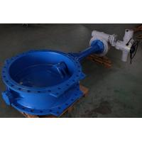 Buy cheap Double Flange Wafer Type Pneumatic Butterfly Valve Actuated from wholesalers