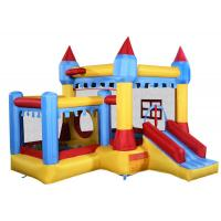 Buy cheap Colorful Inflatable Bounce House Castle With Plastic Ball For Kids Jumper product
