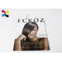 Buy cheap Hair Care Items Printed Carrier Bags With White Handle In CMYK Color Eco - Friendly from wholesalers