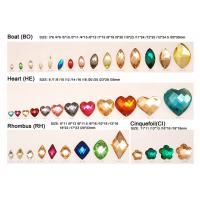 Buy cheap Green Peach Red Crystal Resin Flat Back Gems Stone for Clothes from wholesalers