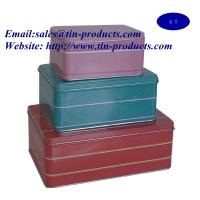 Buy cheap Metal set , gift set  ,Gift box set, metal  case set, metal box  set, Christmas  Box, cake Box, from Goldentinbox.com from wholesalers