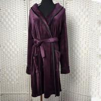 Buy cheap Deep Purple Women Pyjama Set / Sleeping Gown / Bathrobes For Winter from wholesalers