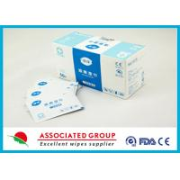 Buy cheap 70% Isopropyl Disinfectant Medical Hospital Alcohol Pad / Swab / Wipes from wholesalers