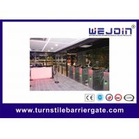 Buy cheap Automatic Flap Barrier with Fingerprint System Used at High-level Club from wholesalers