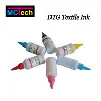 Buy cheap White Textile Ink DTG Pretreatment Liquid for Flatbed Printer Direct Digital Printing from wholesalers