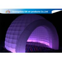Buy cheap Outdoor Event Multi Color Inflatable Dome Tent With LED Lighting product