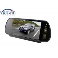 Buy cheap Black 7 Inch Car Rear View Mirror Monitor TFT Screen for Vehicle MDVR Kit from wholesalers