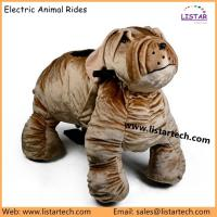 Buy cheap motorized animals shopping mall animal rides animal electric scooter from wholesalers