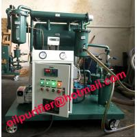 Buy cheap insulation oil purification plant, transformer oil purifier with moisture tester 4ppm from wholesalers
