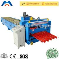 Buy cheap Custom 13 - 22 Forming Station Metal Roof Tile Roll Forming Machine For Color Steel Tile from wholesalers