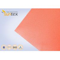 Buy cheap High Temperature 550 C Degree Resistant Silicone Coated Fiberglass Fabric For Welding Curtain Welding Blanket from wholesalers