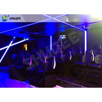 Buy cheap Attractive Entertainment Project 6D Motion Theater Holding 20 People product