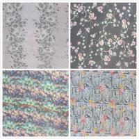 Buy cheap 140cm Width Pure Silk Crinkle Crepe Fabric With Digital Inkjet Printing from wholesalers