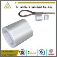 Buy cheap DIN3093 ALUMINUM OVAL SLEEVE FOR STEEL WIRE ROPE from wholesalers