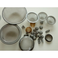 Buy cheap Stainless steel wire mesh filter disk filter disc micron mesh filter cap from wholesalers