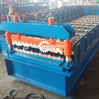 Buy cheap 12-15n/Min Metal Roofing Sheet IBR Roll Forming Making Machine For Iron Sheet from wholesalers