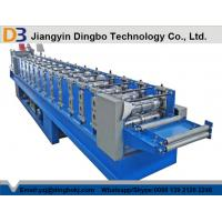 China Galvanized Metal Roof Ridge Cap Roll Forming Machine with 2 Years Warranty on sale