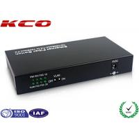 Buy cheap Mono Mode Fiber optic Media Converter Ethernet To Fiber Bandwidth Control from wholesalers