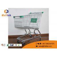 Buy cheap German Style Supermarket Shopping Trolley Unfolding Cart For Grocery Store from wholesalers