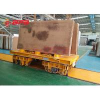 Buy cheap 10t 15t 20t electric industrial track road battery transfer carriage manufacturer in China from wholesalers