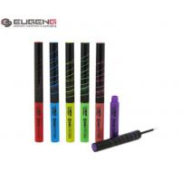 Buy cheap Slim Plastic Empty Eyeliner Container Cylinder UV Printig With White Tip from wholesalers