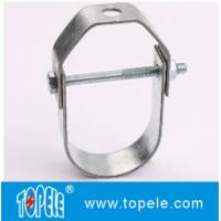 Buy cheap UL certified heavy duty  Galvanized Steel Pipe Clamp Clevis Hanger from wholesalers