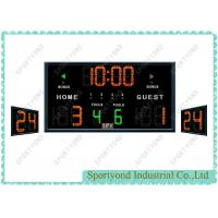 Buy cheap Multisport Ball LED Basketball Scoreboard with 24 Seconds Clock from wholesalers