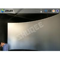 Buy cheap Black And White Genuine Leather 5D Motion Movie Cinema Electronic Hydraulic Pneumatic product