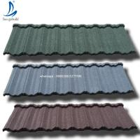 China Ethiopia The Most Popular Stone Coated Metal Roof Tile Bond/Calssical/Roman/Shingle Roof Sheet on sale