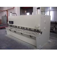 Guillotine Type Hydraulic Shearing Machines For  Plate  , Metal Cutting Shears