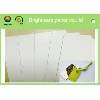 Buy cheap Two Side Printed A0 Card Sheets , C2S Glossy Strong Cardboard Sheets For Art from wholesalers