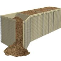 Buy cheap Pakistan Sand Filled Hesco Bastion Barriers Blast Gabion Walls With Geotextile from wholesalers