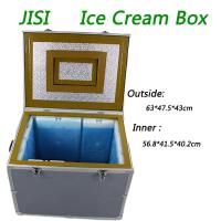 Buy cheap PU + Vacuum Insulation Material Ice Cream Cooler Box For -22C Frozen from wholesalers